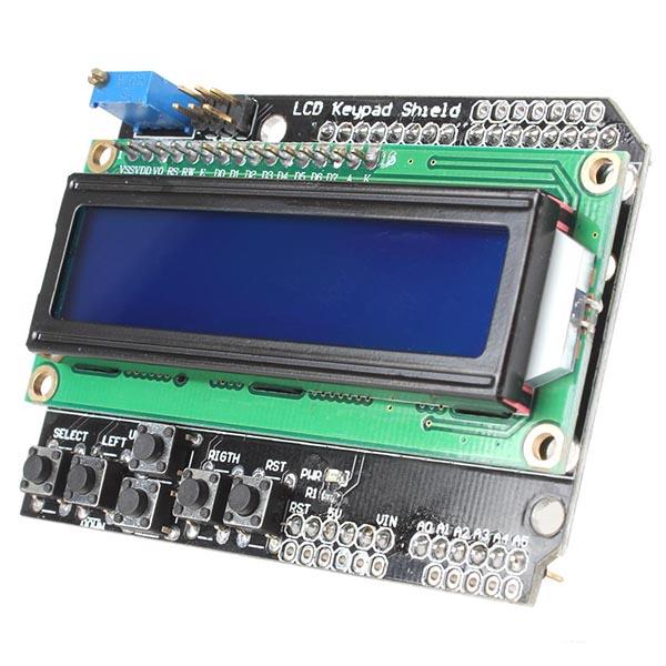 Lcd Keypad Shield Lcd1602 Module Display For Arduino