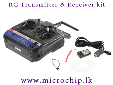 2 4G 6ch RC Transmitter Controller & Receiver For RC Helicopter Plane  Quadcopter Glider remote controller kit