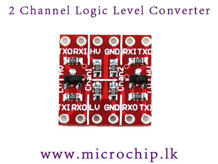 3 3v 5v 2 Channel Logic Level Converter Ttl Bidirectional