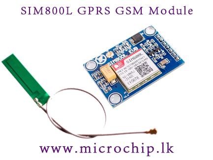 SIM800L GPRS GSM Module with PCB Antenna SIM Board Quad band for MCU for  Arduino
