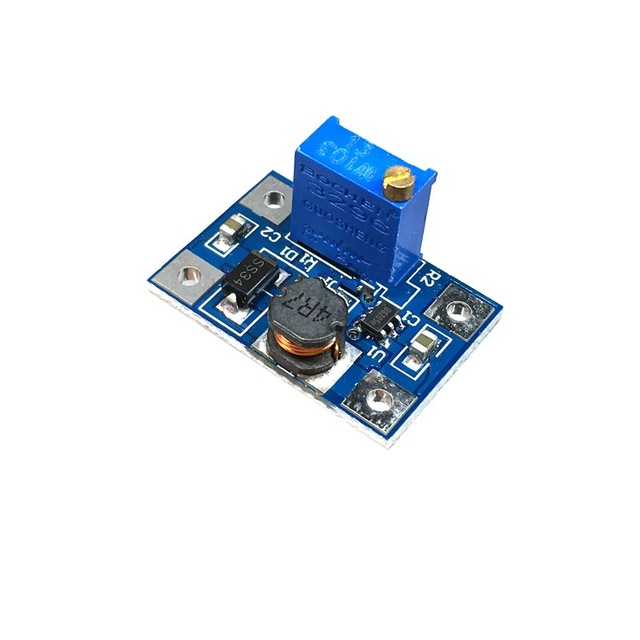 DC-DC SX1308 Converter Board Adjustable Booster Step-up Power Module