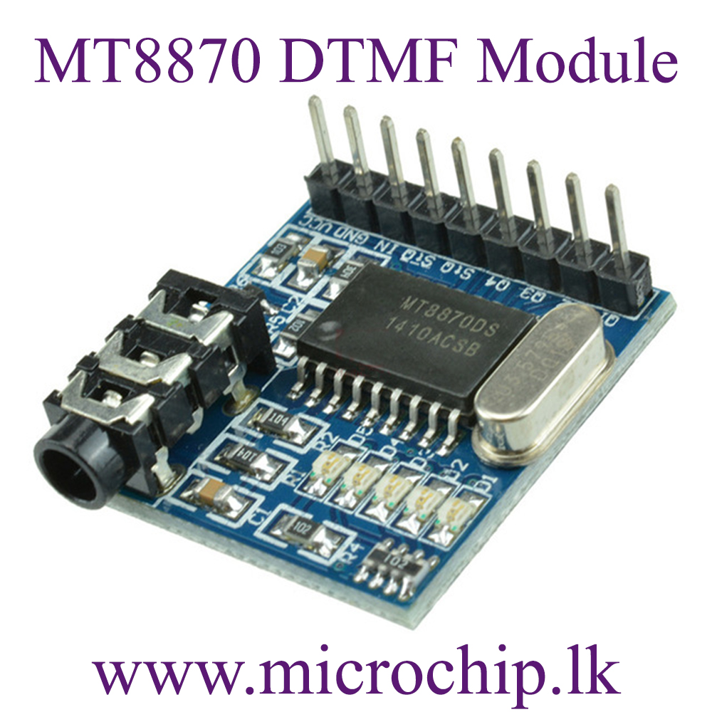 mt8870 dtmf voice audio decoder module microchip lkmt8870 dtmf voice audio decoder module