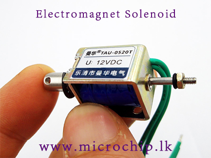 Push and pull Type Frame electromagnet Solenoid