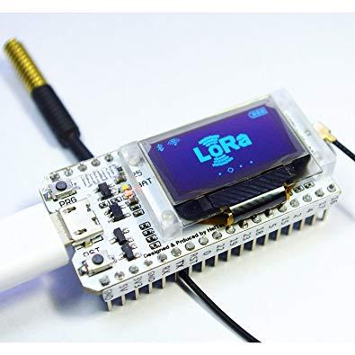 LoRa 32 / ESP LoRa SX1278 with 0 96 OLED Display BT WiFi Module