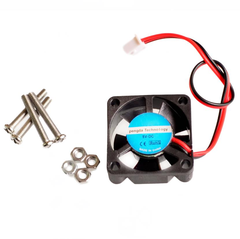Raspberry Pi 3 CPU Fan Active Cooling Fan for Customized Acrylic Case