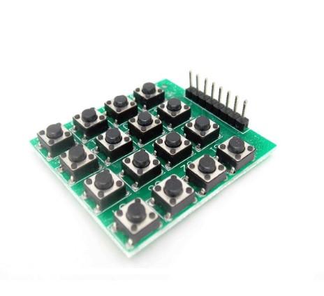 6df897274f8 4×4 Matrix 16 Keypad Keyboard Module 16 Button Mcu for Arduino ...
